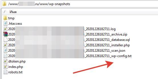 Плагин Duplicator опасно сохраняет архив